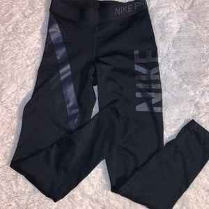 Nike pro xsmall leggings. Euc!